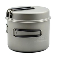 TOAKS TITANIUM POT WITH FRYPAN 1600ML
