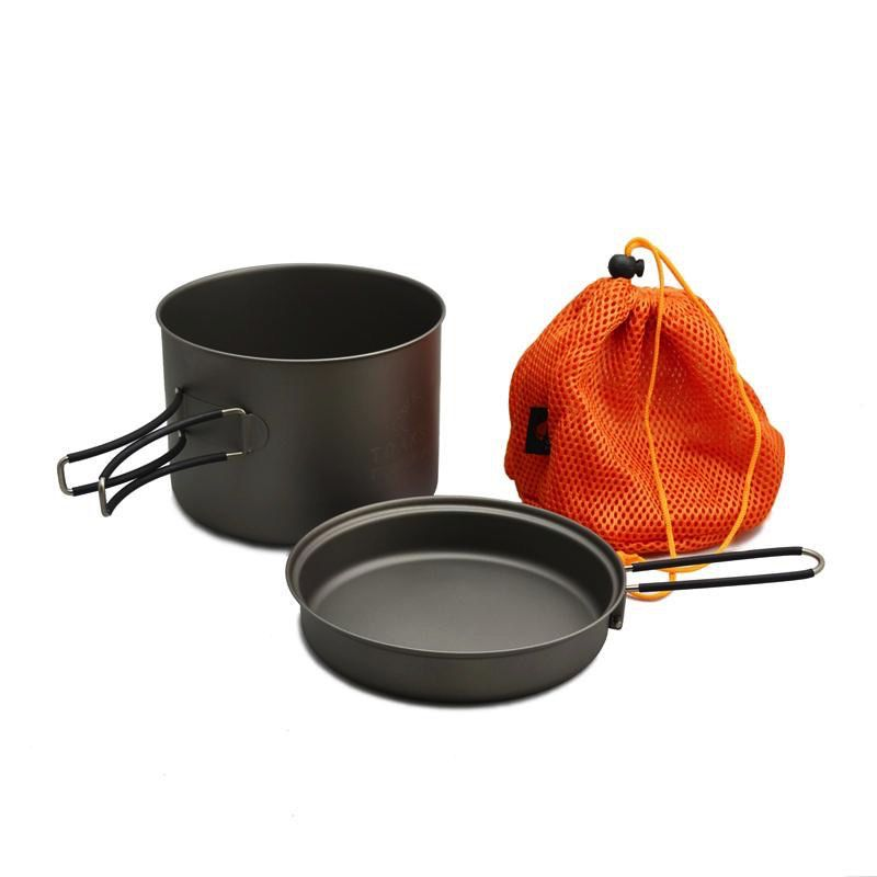Toaks Titanium TOAKS TITANIUM POT WITH FRYPAN 1600ML
