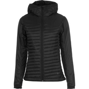 BLACK DIAMOND BLACK DIAMOND HOT FORGE HYBRID HOODY WOMEN'S