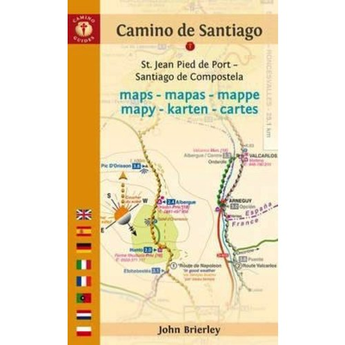CAMINO de SANTIAGO MAPS BY JOHN BRIERLEY