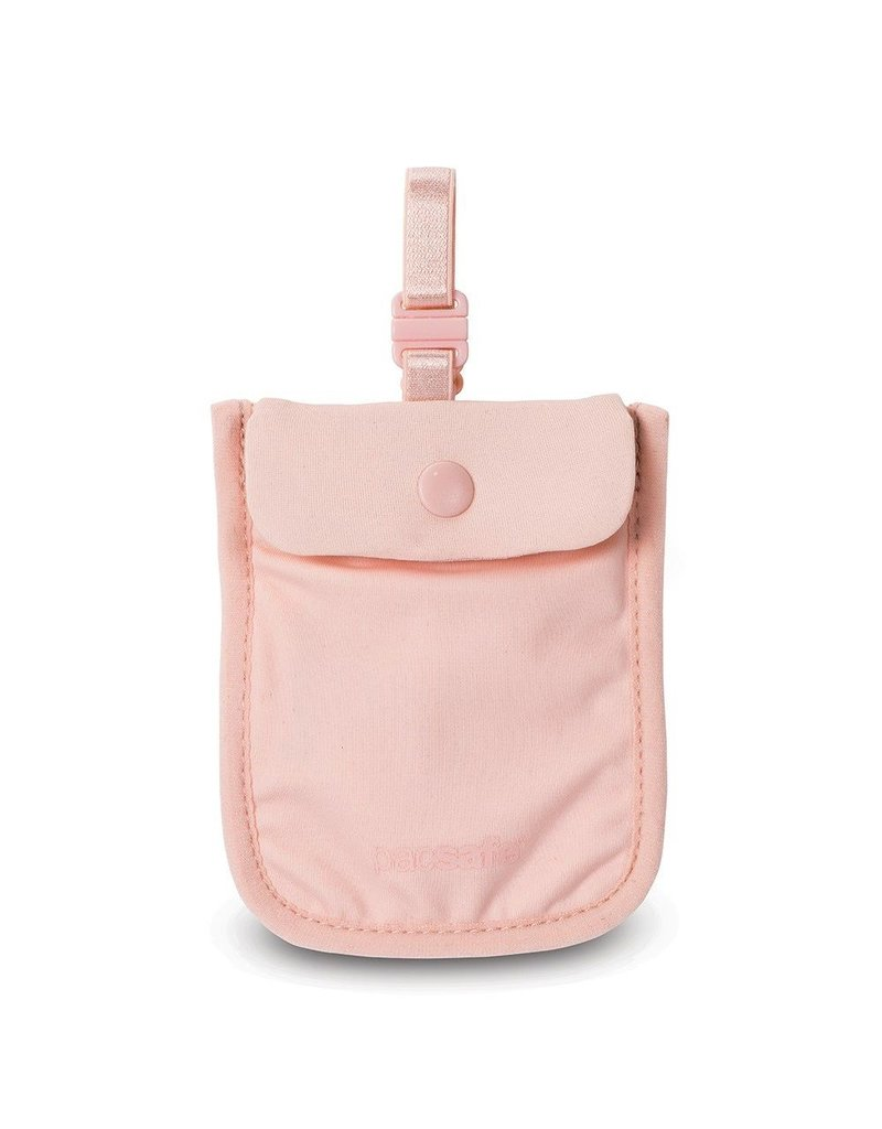 PACSAFE PACSAFE COVERSAFE 25 SECRET BRA POUCH PINK