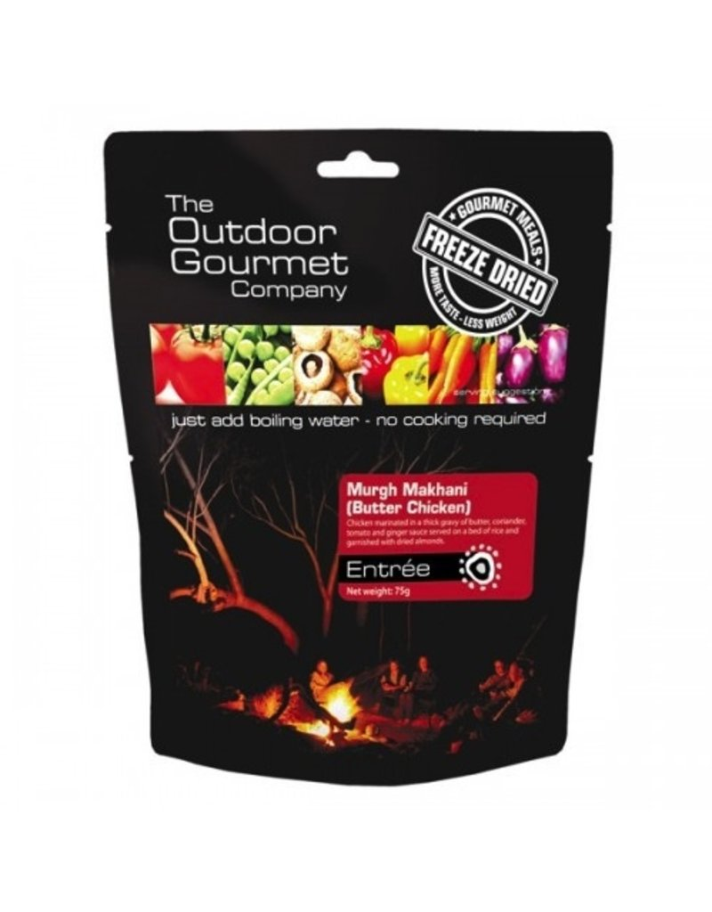 BACKCOUNTRY OUTDOOR GOURMET BUTTER CHICKEN (DOUBLE SERVE)