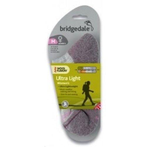 BRIDGEDALE BRIDGEDALE WOOL FUSION ULTRA LIGHT SOCKS WOMEN'S