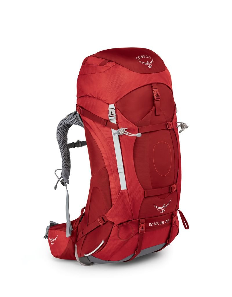 OSPREY OSPREY ARIEL AG 55L WOMEN'S HIKING BACKPACK WITH RAIN COVER