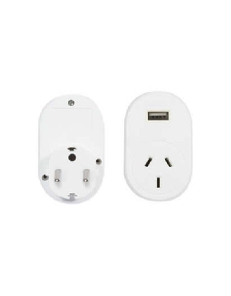 OSA BRANDS OSA TRAVEL ADAPTOR EUROPE WITH USB