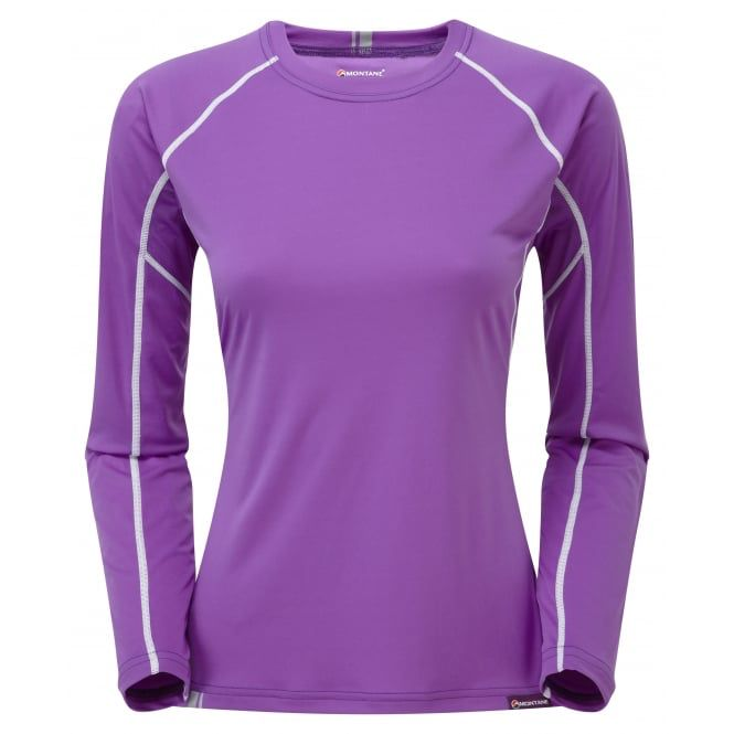 Montane MONTANE SONIC LONG SLEEVE T-SHIRT WOMEN'S