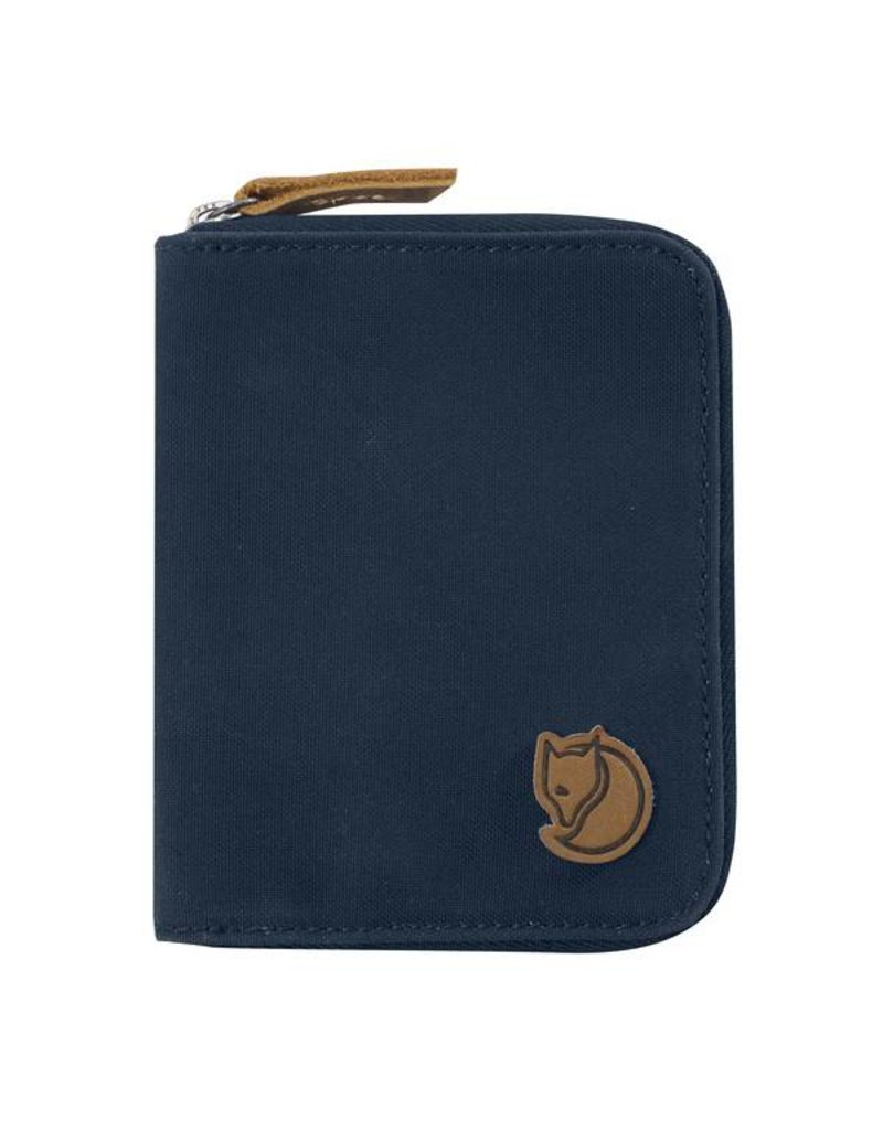 FJALLRAVEN FJALLRAVEN ZIP WALLET DEEP BLUE