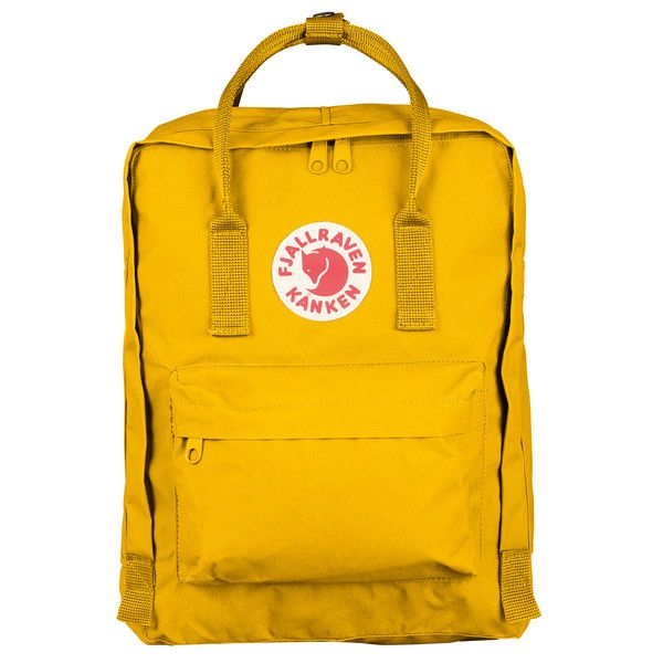 FJALLRAVEN FJALLRAVEN KANKEN PACK WARM YELLOW CORE