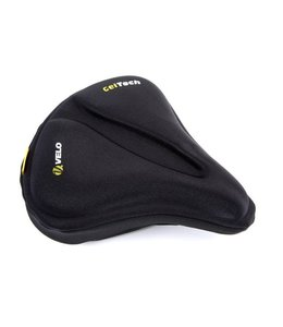 Velo Velo Saddle cover Gel Black Medium