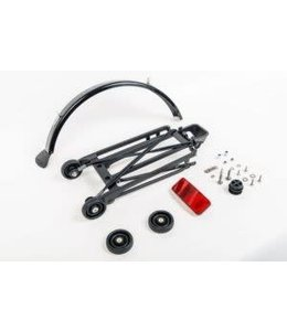 Brompton Brompton Rear Rack Set Complete inc Mudguard