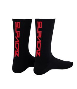 Supacaz Supacaz Socks Black / Red Large / XLarge
