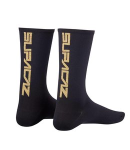 Supacaz Supacaz Socks Gold Bling Small / Medium