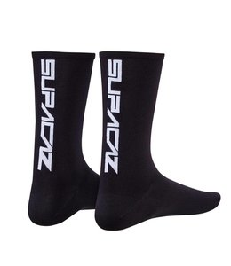 Supacaz Supacaz Socks Black / White Large / XLarge