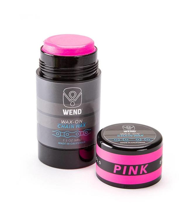 Wend WAX-ON Chain Lube Stick Pink 80ml
