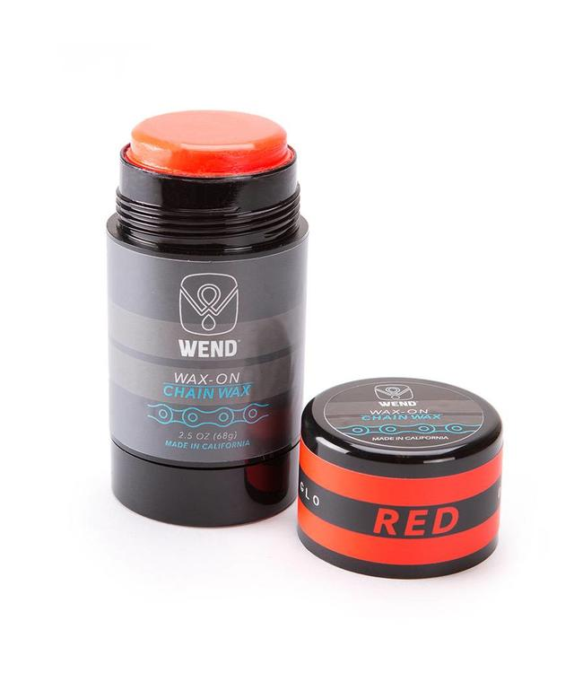 Wend WAX-ON Chain Lube Stick Red 80ml