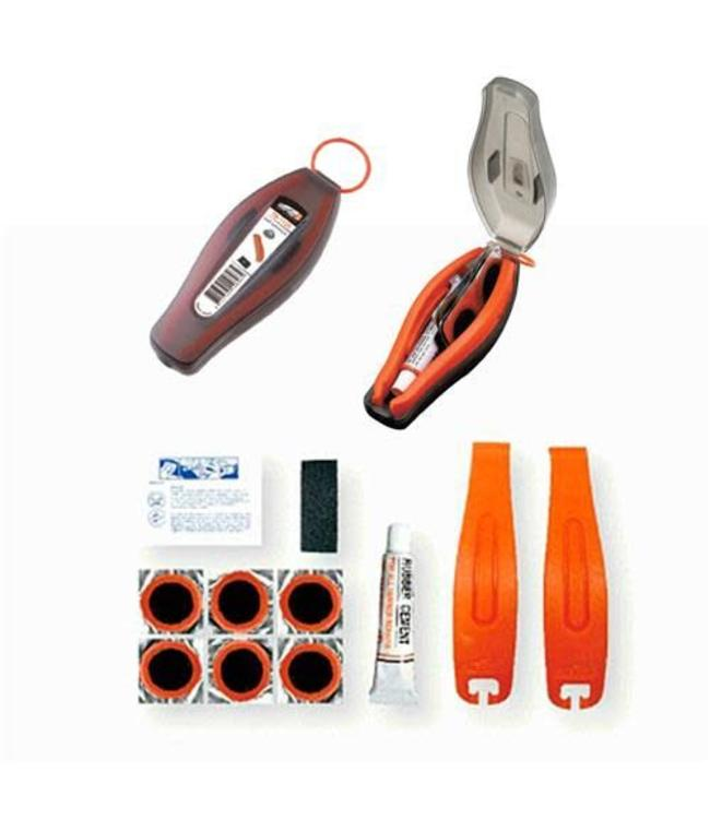 Super B Patch Repair Kit With Tyre Levers and Glue