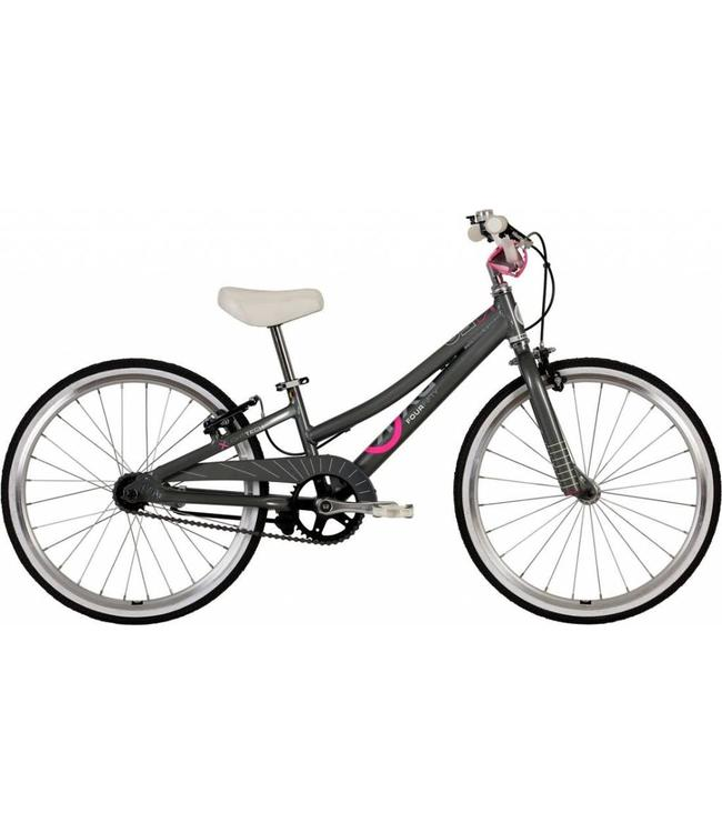 ByK ByK Bike E450 Girls Charcoal Neon Pink