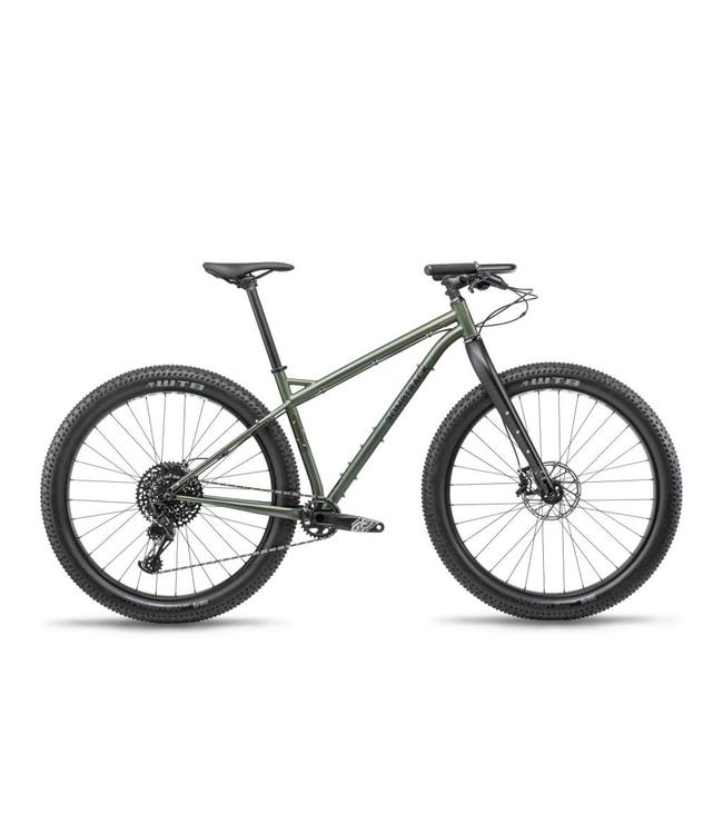 "Bombtrack Bombtrack 2019 Beyond + ADV 29"" Matte Metallic Green M"