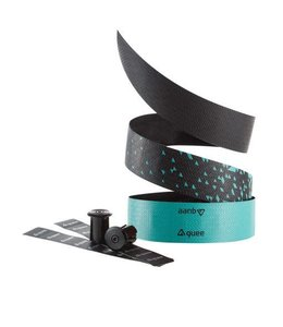 Guee Guee Bar Tape Supertacky 3mm Blk/Celeste Green