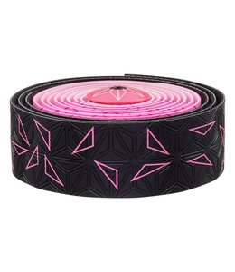 Supacaz Supacaz Bar Tape SSK Neon Pink Black Star Fade
