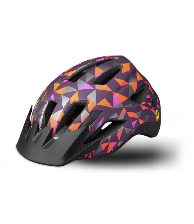 Specialized Specialized Helmet Shuffle MiPS LED SB Cast Berry Geo Child