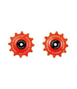 Tripeak Tripeak Ceramic Jockey Wheels Shimano Red 11s 12T
