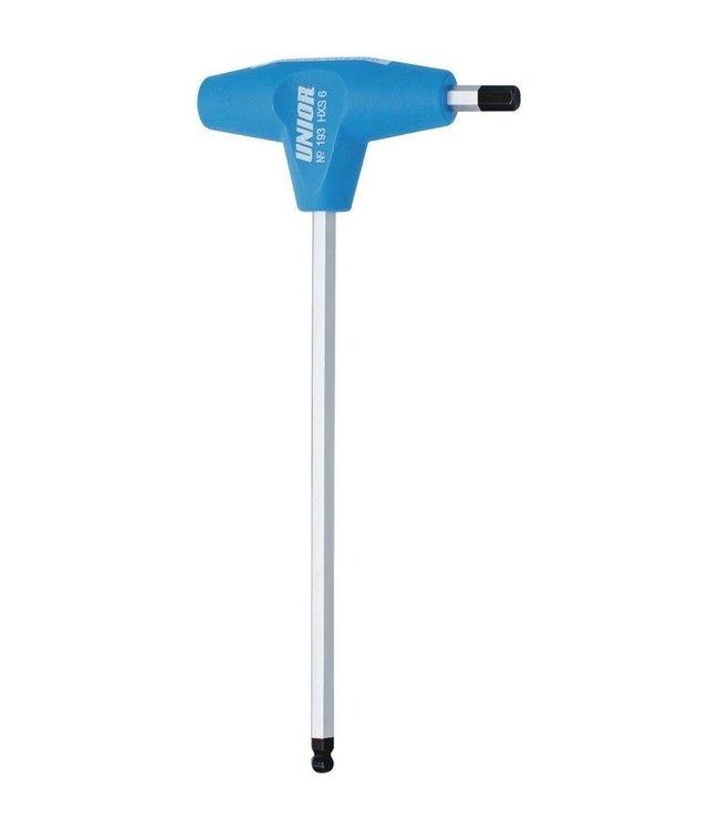 Unior Unior Ball End Hexagonal Wrench 5mm w/Handle