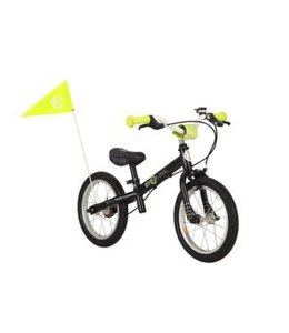 ByK Byk E250L Learner Balance Bike Black Neon Yellow