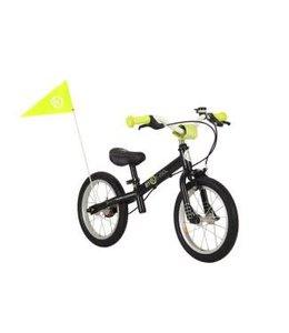 ByK Byk E250L Learner Balance Bike Black Neon Yellow
