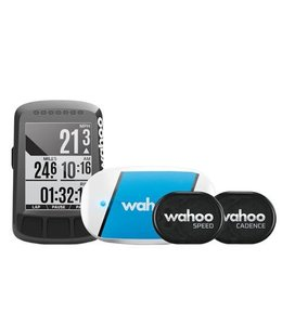 Wahoo Wahoo Elemnt Bolt GPS Bike Computer Bundle (HRM, Speed & Cadence)