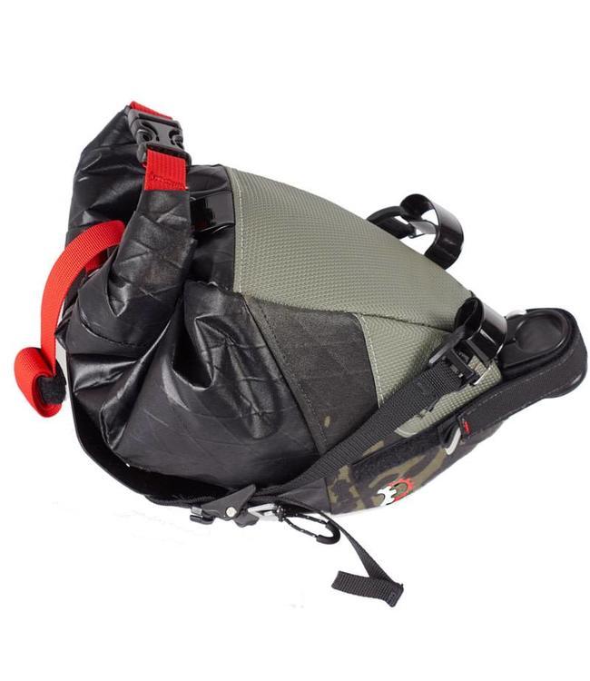 revelate Revelate Seat Pack Vole Black Camo Valais 25mm