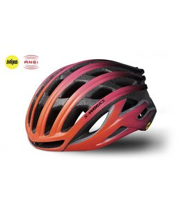 Specialized Specialized Helmet Prevail II Acid Lava / Purple MiPS with ANGI