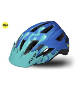 Specialized Specialized Helmet Shuffle MiPS LED SB Neon Blue / Acid Mint Slime Youth