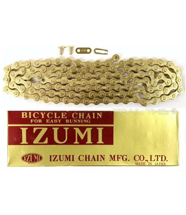 Izumi Chain 1/2 x 1/8 116 link Gold