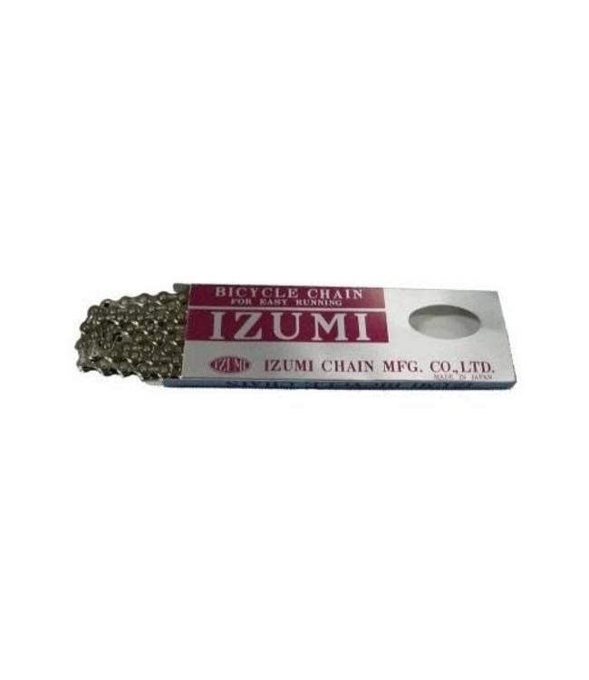 Izumi Chain 1/2 x 1/8 116 link Silver