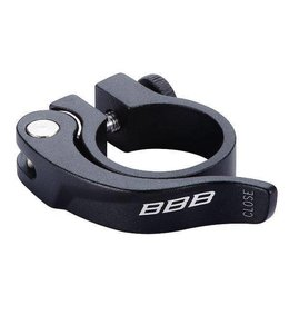 BBB BBB Seat Post Clamp Smooth Lever 31.8