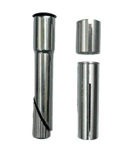 BPW Ahead Stem Quill Converter Adaptor Shim 22.2 25.4 Silver