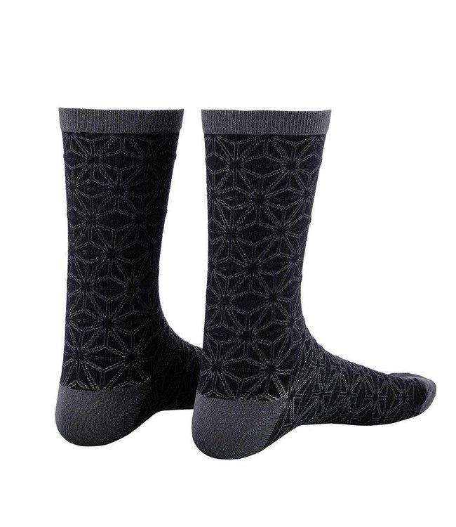 Supacaz Supacaz Socks Asanoha Blackout Small / Medium