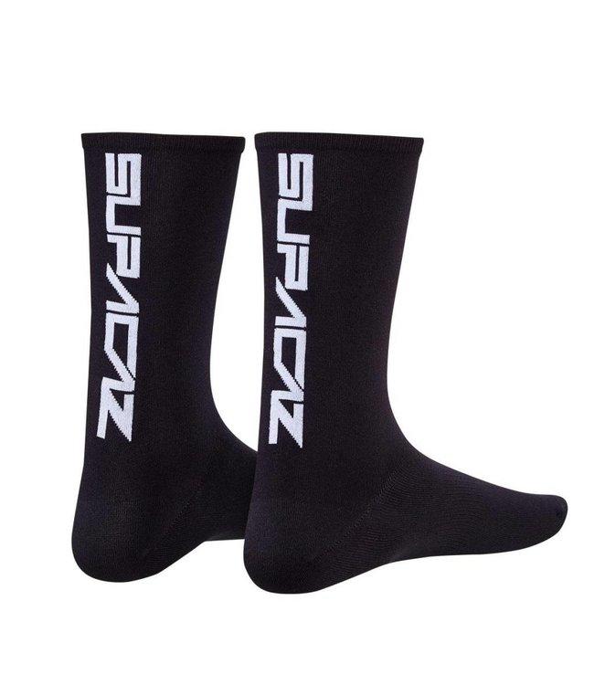 Supacaz Supacaz Socks Black/White L/XL