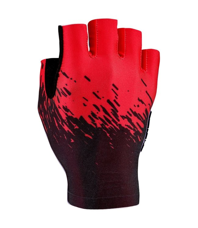 Supacaz Supacaz Gloves SupaG Half Finger Red Medium