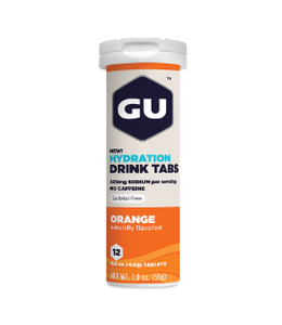 Gu GU Hydration Tablets Orange