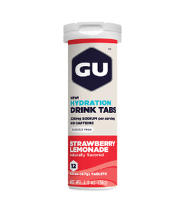 Gu GU Hydration Tablets Strawberry Lemonade