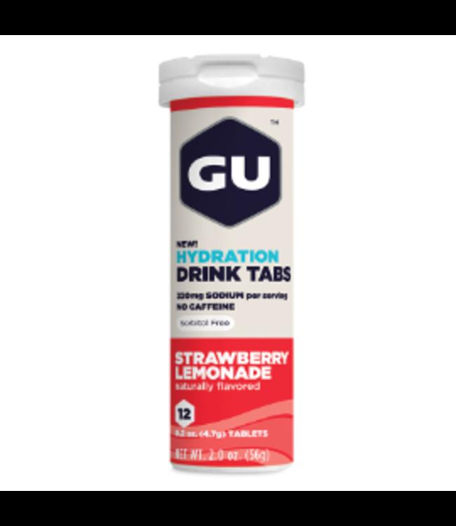 Gu GU Hydration Tablets Strawberry Lemonade