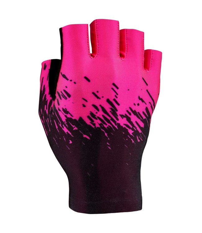 Supacaz Supacaz Gloves SupaG Half Finger  Black / Pink Small