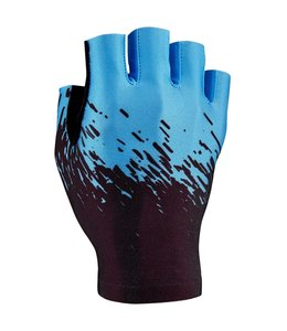 Supacaz Supacaz Gloves SupaG Half Finger Black / Blue Small