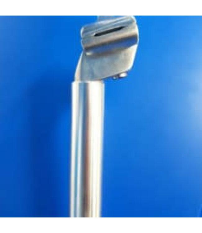 Bikelane Bikelane Seat Post 27.2 x 400mm Micro Adjust Alloy Silver