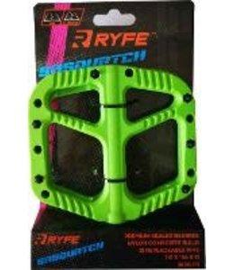 Ryfe Pedals Sasquatch Green