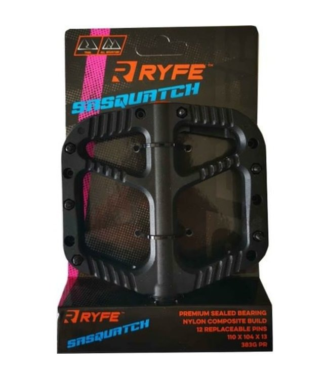 Ryfe Pedals Sasquatch All Mountain / Trail Black