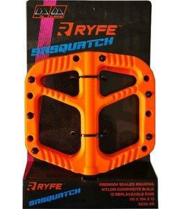 Ryfe Pedals Sasquatch All Mountain / Trail Orange