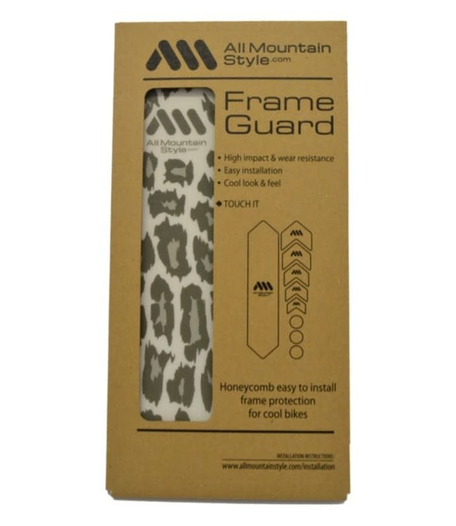 All Mountain Style All Mountain Styles Frame Protection Wrap Clear / Cheetah ST